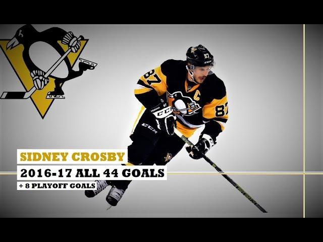 Sidney Crosby (87) ● ALL 44 Goals 2016-17 Season 8 Playoff Goals (HD)