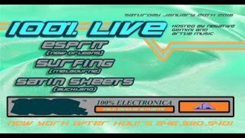S U R F I N G, Esprit Satin Sheets Live Stream!