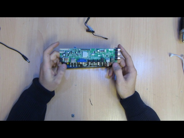 Универсальный скалер DS.D3663LUA.A81 - замена скалеру Z.VST.3463.A1