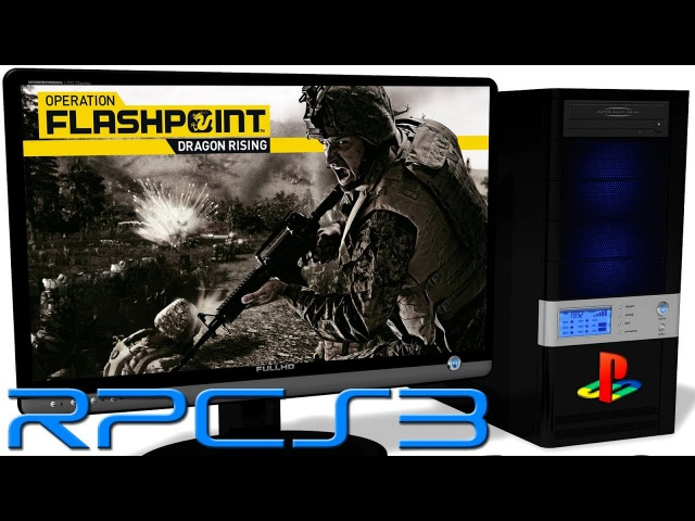 RPCS3 0.0.3 PS3 Emulator - Operation Flashpoint: Dragon Rising (2009). LLVM Vulkan (Auto LLE) 2
