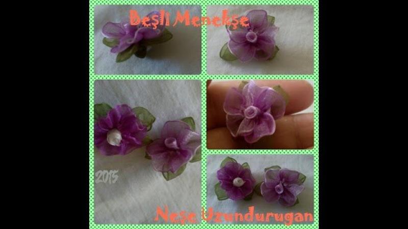 Organze Kurdele oyalarıBEŞLİ MENEKŞE ÇİÇEĞİ Forex flower,health flower,holidayTaksim flower,