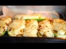 Кабачки-лодочки в духовке| Михаил Vegan | (постный рецепт)