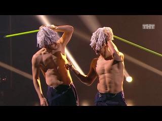 Танцы: Виталий Уливанов и Александр Крупельницкий (Missy Elliott - Pump It Up) (сезон 4, серия...