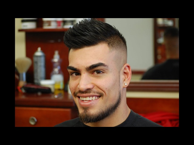 Bald Fade with a Fohawk Tutorial with Turkish Hair Singeing