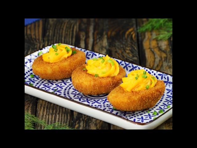 Recette : Pané d'oeufs mimosa. Ça croustille avant de fondre sous la dent » Freewka.com - Смотреть онлайн в хорощем качестве