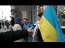 18 11 17 Агрессивные провокаторы пытались сорвать акцию в поддержку крымских татар