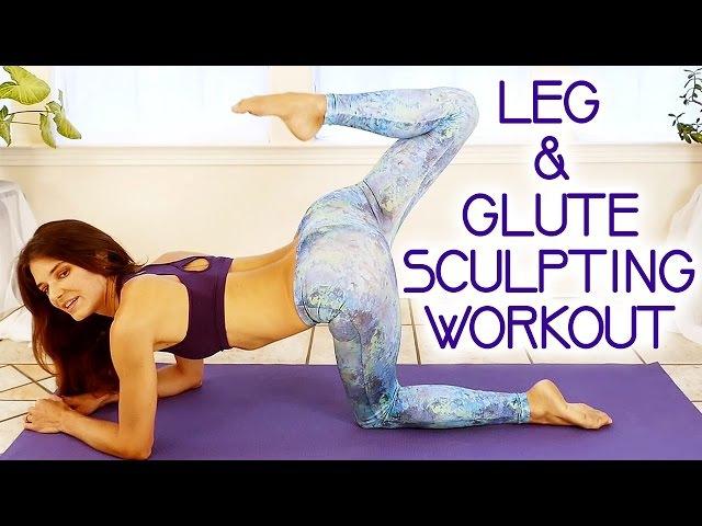 Butt Leg Sculpting Workout For Women 20 Minute Toning At Home w/ Tara