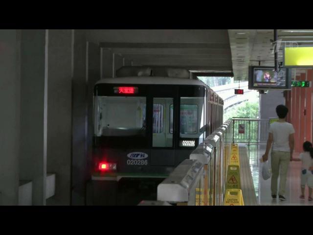 ВКитае впервые вмире метро проложили сквозь жилой многоэтажный дом Новости Первый канал