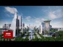 Пойтахтда қурилиши режаланган Toshkent city лойиҳаси - BBC Ozbek