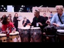 NAMM 2011, Taylor Moore and friends on drums, Remo booth