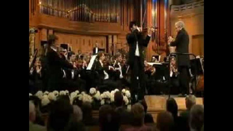 Ray Chen   Tchaikovsky Violin Concerto   1st Mvt   Queen Elisabeth Comp   2 of 2   2009