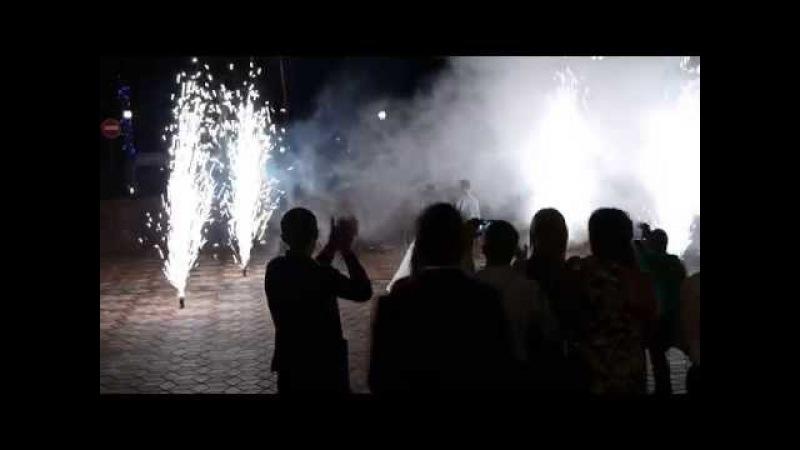 Профессинальный фейерверк на свадьбу в Самаре и Тольятти
