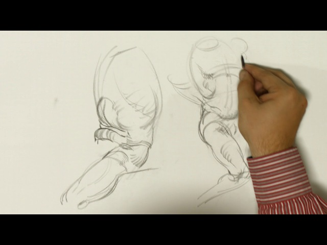 Free Timed Figure Drawing Demonstration by NMA Founder Joshua Jacobo