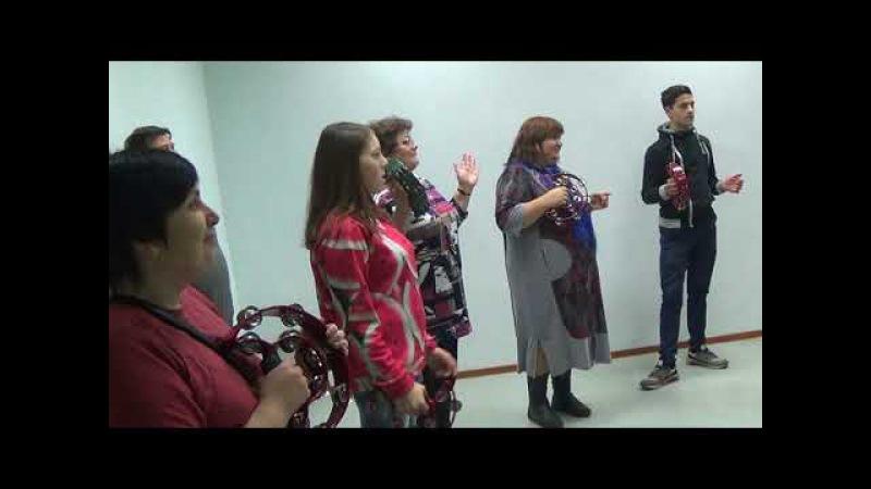 Музыкальный мастер-класс для детей из Зубцовского дет-дома и Бежецкой школы-инт ...