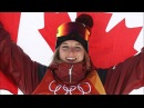 Cassie Sharpe Wins Gold in Freestyle Skiing Halfpipe Pyeongchang 2018