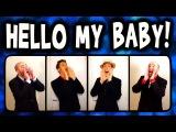 Hello My Baby (Frog Song) - A Cappella Barbershop Quartet (Trudbol &amp SgtSonny)