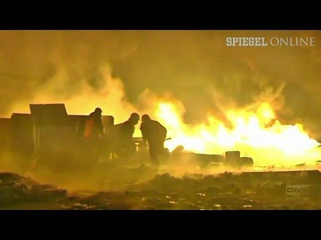 23 января 2014. Киев. Blutiger Machtkampf in Kiew: Opposition stellt Janukowitsch Ultimatum