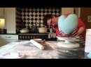 How to make a Gravity Defying Heart Cake - Minnie Mouse Cake