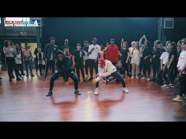 Luciano Jeems Deden een KILLER CHOREO tijdens de Orokana Friends workshops 4