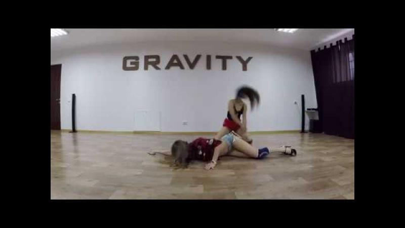 Sexy choreo by Lili Nikitova strip dance hippi sabotage righteous
