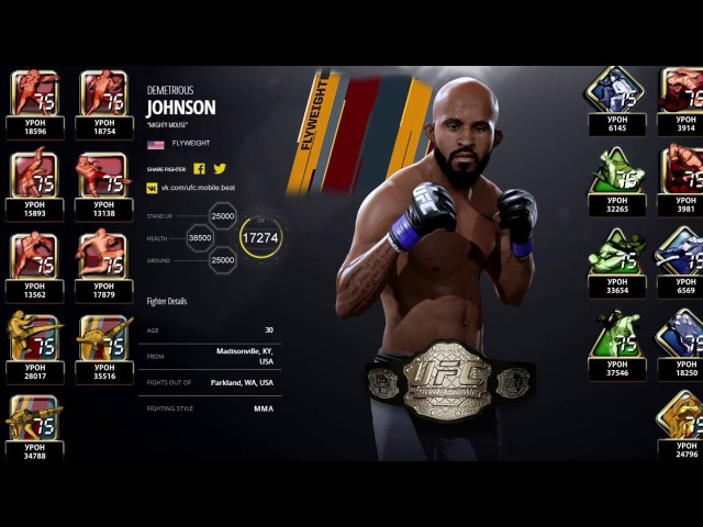 Demetrious Johnson NCE
