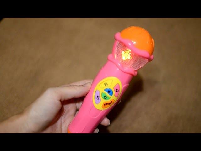 Микрофон музыкальный Алфавит от joy toy