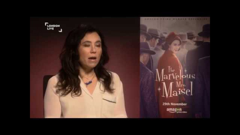 Rachel Brosnahan and Alex Borstein on comedy, censorship The Marvelous Mrs Maisel | London Live