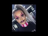 Brand ambassador Orla creates this pretty clown look