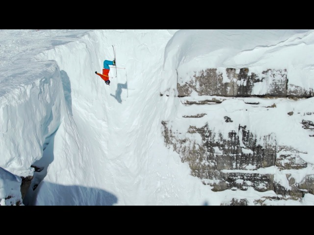 Owen Leeper | Jackson Hole Skiing, Corbet's Couloir Backflip, Cliff drops and Powder
