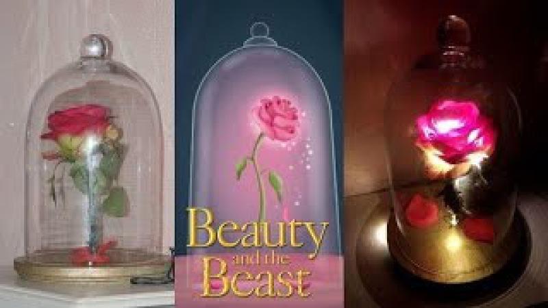 DIY : Rosa de La bella y la bestia - Disney's Beauty and the Beast Enchanted Rose