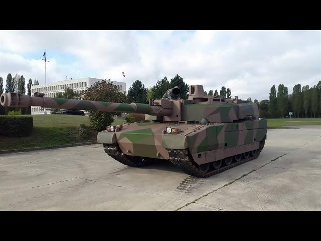 ОБТ.AMX-56 Леклерк танковый кулак Франции