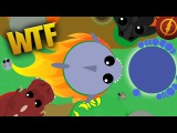 SHARK SPRINT ON LAND GLITCH IN MOPE.IO FUNNY MONTAGE