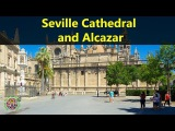 Best Tourist Attractions Places To Travel In Spain  Seville Cathedral and Alcazar Destination Spot