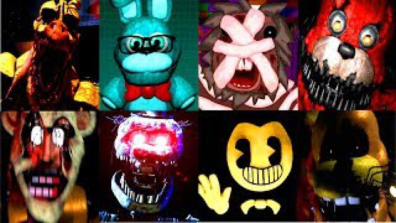 150 JUMPSCARES!! | World of Jumpscares 11 | FNAF Fangame