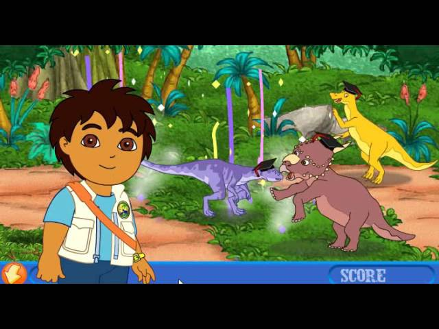 Динозаври 5 Диего: приключения донозавров / Diegos dinosaur adventure