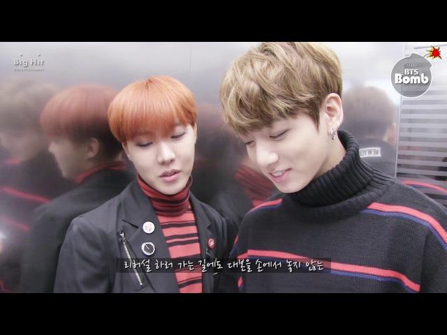 [BANGTAN BOMB] j-hopeJungKook Show Music core Special MC - BTS (방탄소년단)
