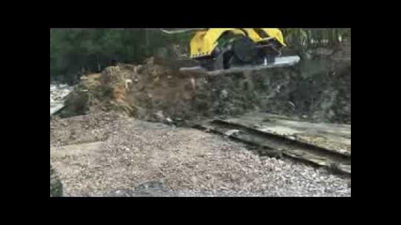 Excavator Hydraulic Vibration Compactor