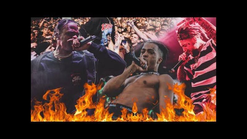 THE MOST LIT LIVE SHOWS CONCERTS COMPILATION (Ft. Travis Scott, Lil Uzi Vert, XXXTentacion...)