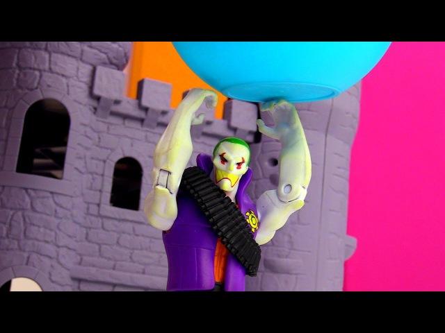 Видео для детей 🃏 ДЖОКЕР украл Супер Эликсир! КуклаБАРБИ Шпионка! ОпытыдляДет...