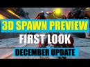 Quake Champions Third Person spawn preview video - first look