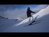 Sportidea K2 sight skis Saken Kagarov