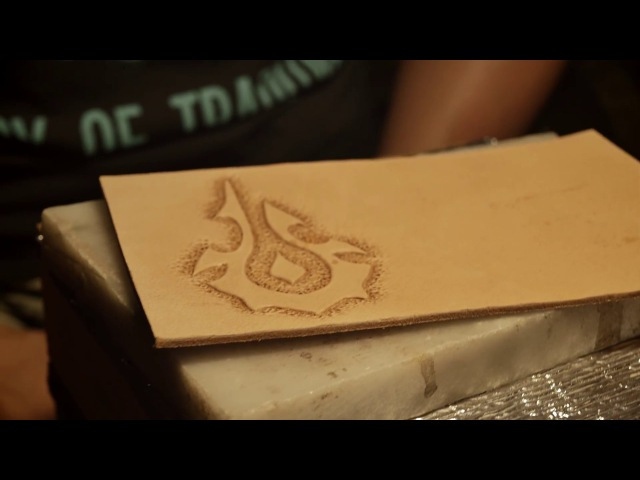 LaerCrafts | World of Warcraft handmade Horde walletcardholder