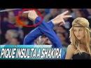 Gerard Piqué insulta a Shakira por error durante su celebración de gol