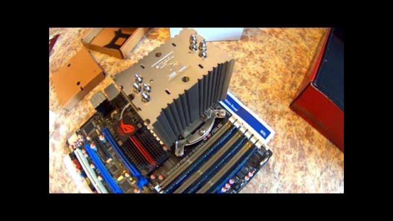 Мощная система охлаждения куллер башня cooler Noctua NH U9B special editiot SE2