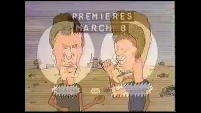 Beavis and Butt-Head 1993 MTV Premiere Promo