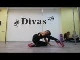Exotic Pole Dance. Darya Fedotova