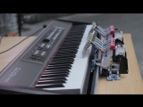 Maroon 5 - Payphone - Piano cover by Elise ( Mindstorm EV3 )