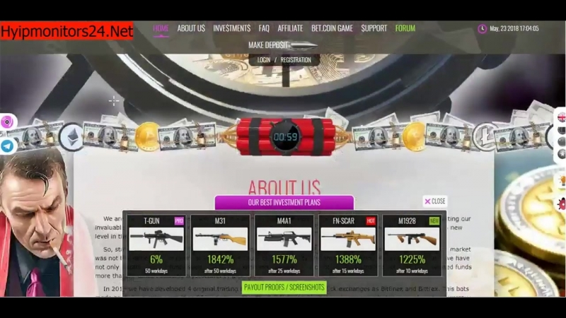 Ak47 Capital Overview- Scam or Paying