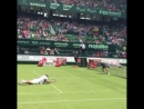 Мансур Бахрами самый забавный теннисист трюкач в мире