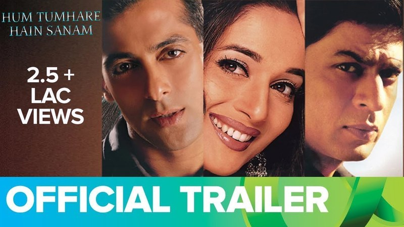 Hum Tumhare Hain Sanam (Official Trailer)   Shahrukh Khan, Salman Khan Madhuri Dixit